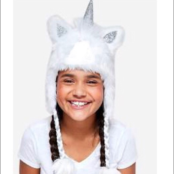 d4a471a31bf unicorn toboggan beanie cold weather hat glove set